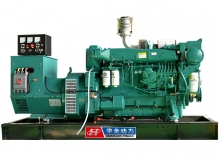 150kw潍柴船用发电机组