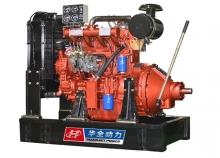 50kw潍坊红色离合器机组