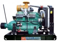 120kw潍柴中型机固定动力(离合器)机组