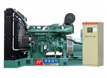 500kw沃尔沃发电机组配ATS自动化控制柜