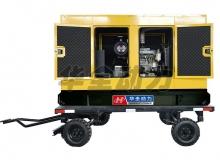220kw沃尔沃移动静音箱发电机组