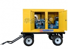 10-20kw单缸(或双缸)发电机组适配移动拖车